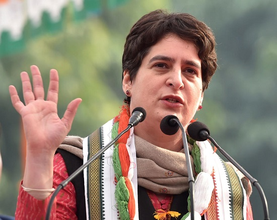Priyanka Gandhi Address, Whatsapp Number, Email ID