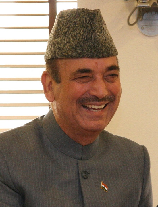 Ghulam Nabi Azad Contact Address, Phone Number, Whatsapp Number, Email ID, Website 1