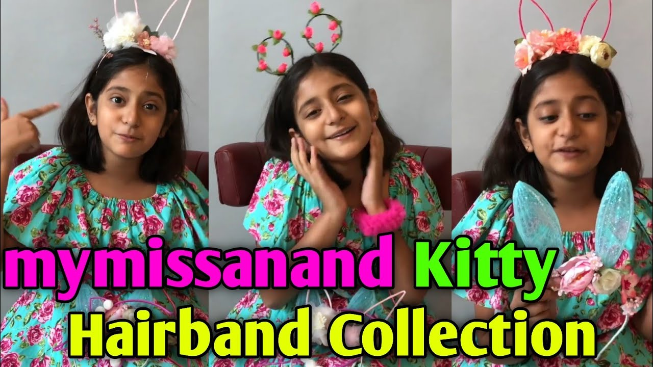 Miss anand kitty hairband collection