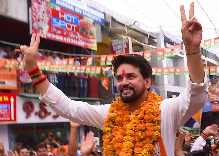 Anurag Thakur Contact Address, Phone Number, Whatsapp Number, Email ID, Website 7
