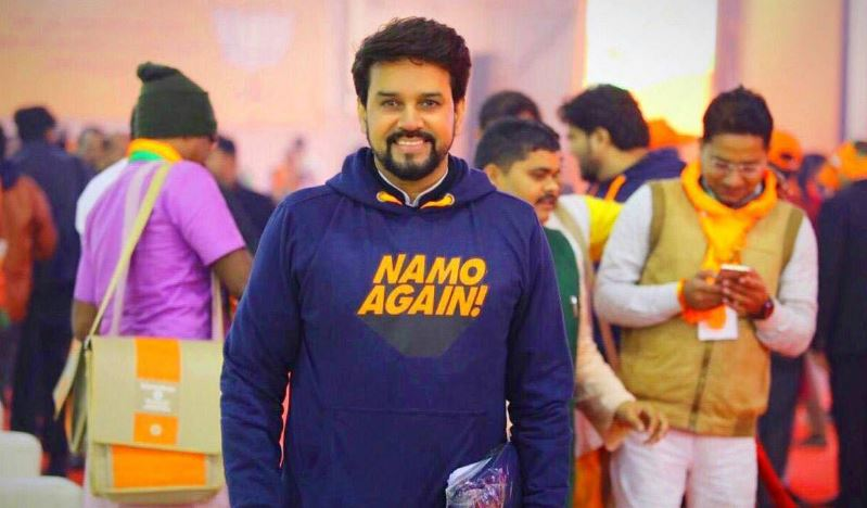 Anurag Thakur Contact Address, Phone Number, Whatsapp Number, Email ID, Website 8