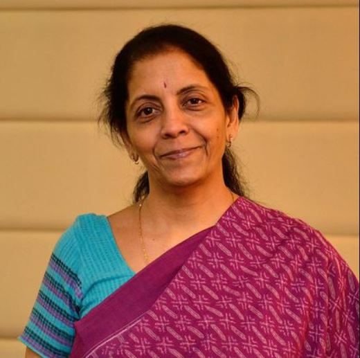 Nirmala Sitharaman Contact Address, Phone Number, Whatsapp Number, Email ID, Website 1