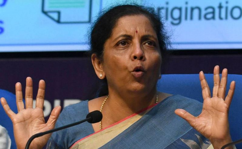 Nirmala Sitharaman Contact Address, Phone Number, Whatsapp Number, Email ID, Website 5