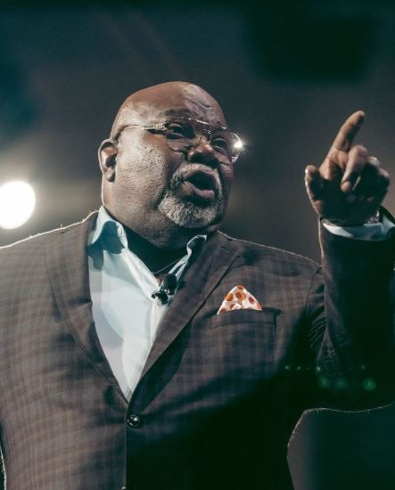 Bishop T.D. Jakes Contact Address, Phone Number, Whatsapp Number, Email ID, Website 9