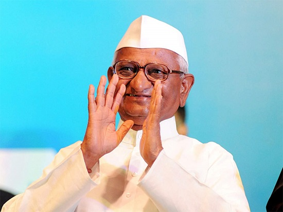 Anna Hazare Contact Address, Phone Number, Whatsapp Number, Email ID, Website 5