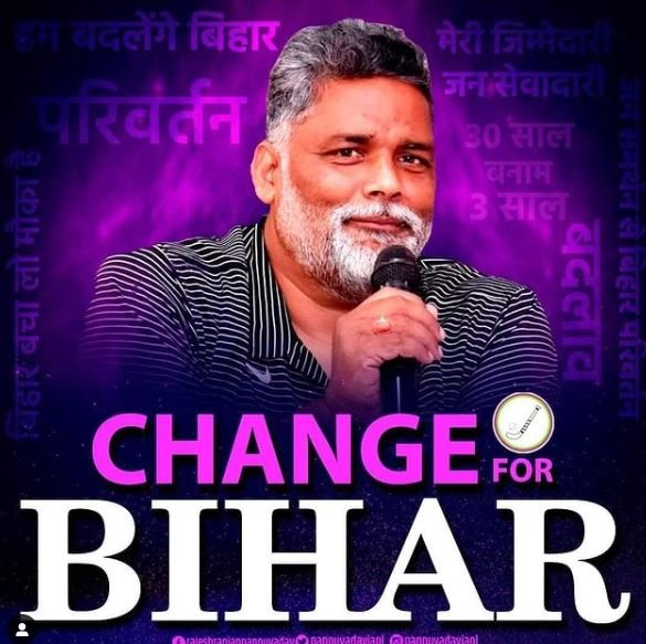 Pappu Yadav Contact Address, Phone Number, Whatsapp Number, Email ID, Website