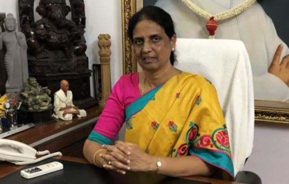 Sabitha Indra Reddy Contact Address, Fanmail Address, Phone Number, Whatsapp Number, Email ID, Website